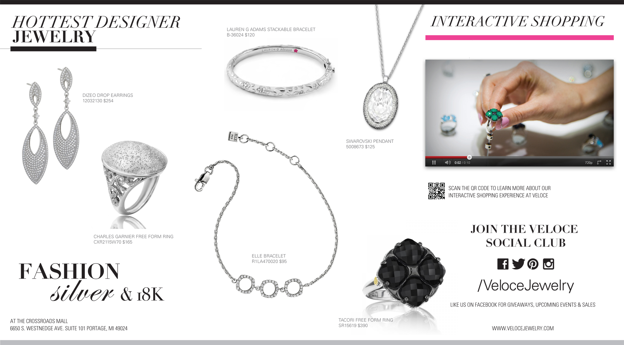 Veloce Jewelry Mini Catalog
