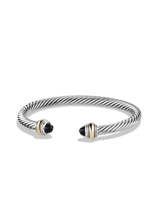 David Yurman Cable Clic Bracelet With Gold Previous Next