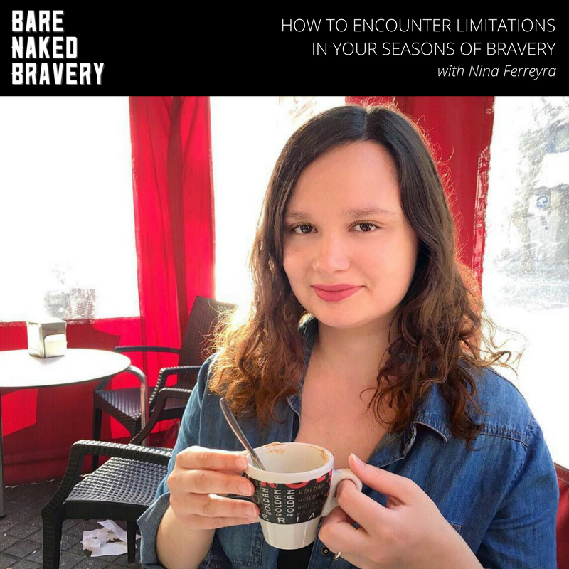 Bare Naked Bravery Podcast - Emily Ann Peterson | Interview with Nina Ferreyra